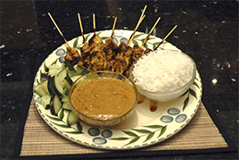 Episode 9 - Chicken Satay sewed with Coconut Rice