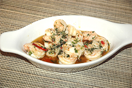 Episode 17 - Garlic Prawns with Chilli served with French Bread