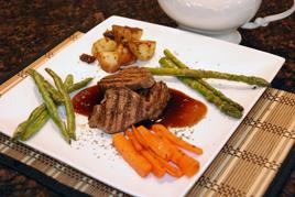 Episode 105 - Fillet Steak with Strawberry Jam Jus & Wok Fried Vegetables