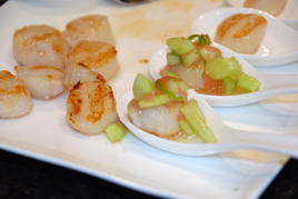 Episode 106 - Char-Grilled Scallops with Cucumber