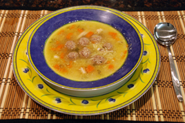 Episode 107 - Chicken Broth with Mini Meatballs and Pastina