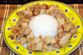 Episode 112 - Honey Lemon Chicken with Steamed Rice