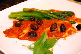 Episode 121 - Paprika Pasted Red Emperor with Asparagus Spears