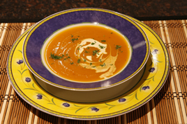 Episode 44 - Sweet Potato & Pumpkin Soup