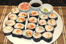 Episode 50 - Sushi Rolls