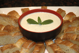 Episode 57 - Pesto Dip with Toasted Turkish Bread