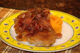 Episode 83 - T-Bone Steak with Caramelised Onions & Sweet Potato Mash