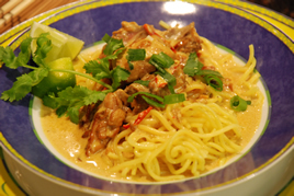Episode 87 - Coconut Chicken Curry with Singapore Noodles