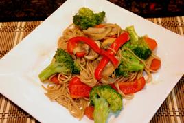 Episode 88 - Vegetarian Soba Noodles Stirfry