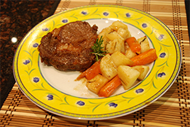 Episode 98 - Belinda's Portuguese Baked Steak with a Twist & baked vegies
