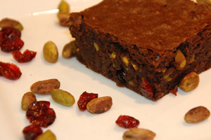 episode138-chocolate-pistachios-cranberry-brownies